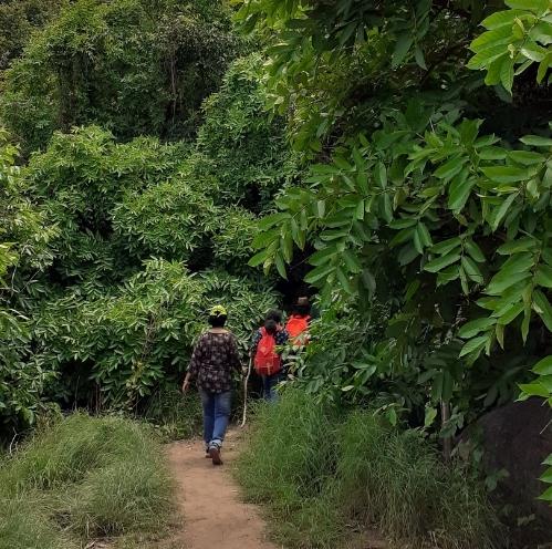 11Trekkers on Uttari Betta trek trail